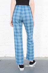 Bright Blue Plaid / S