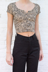 Zelly Cheetah Top