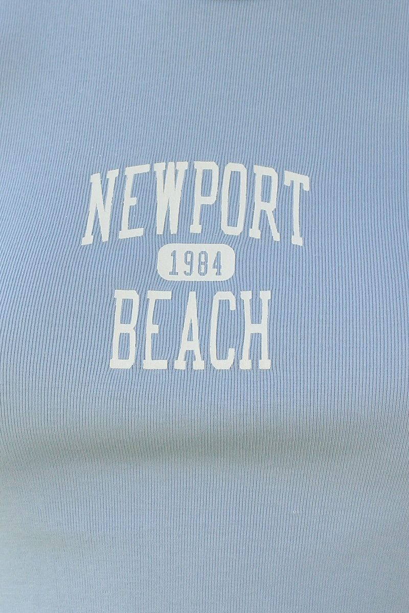 Detail Photo of Ashlyn Newport Beach 1984 Top