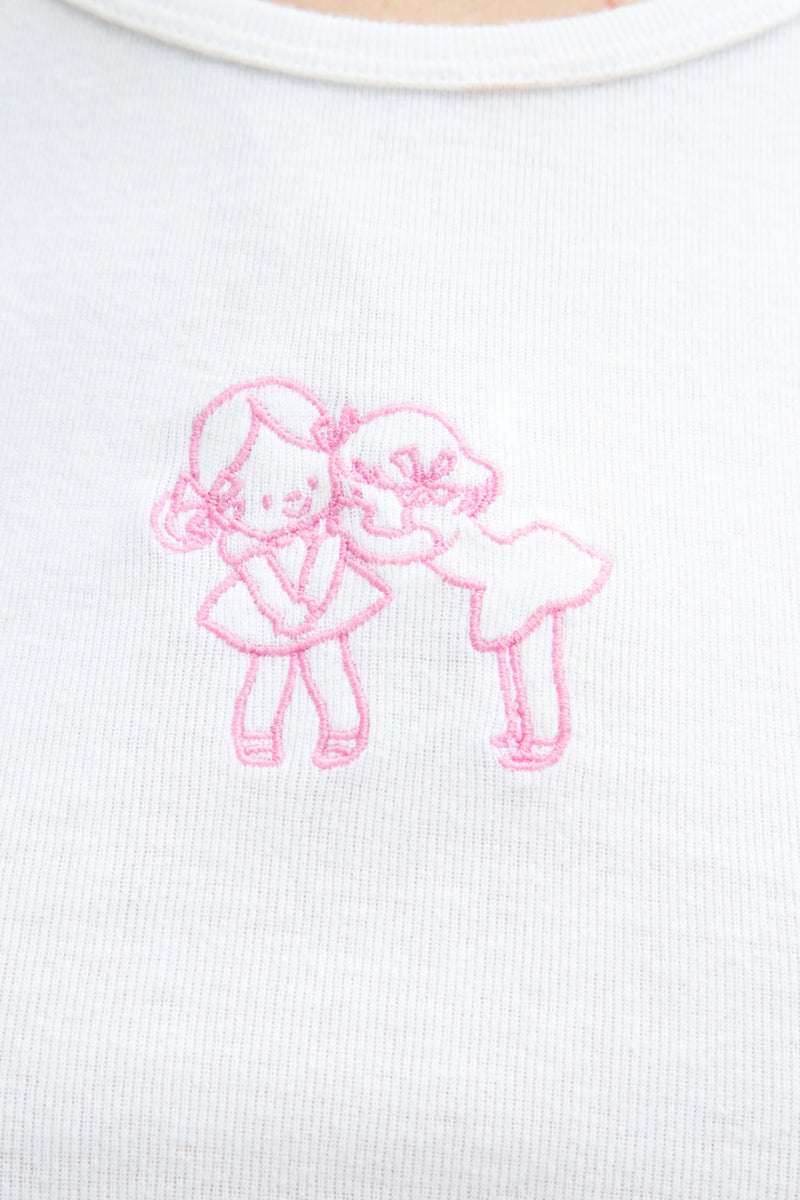 Detail Photo of Ashlyn Whispering Girls Top