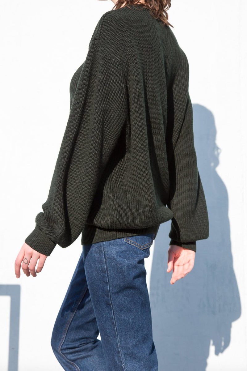 Dark Green / Oversized Fit