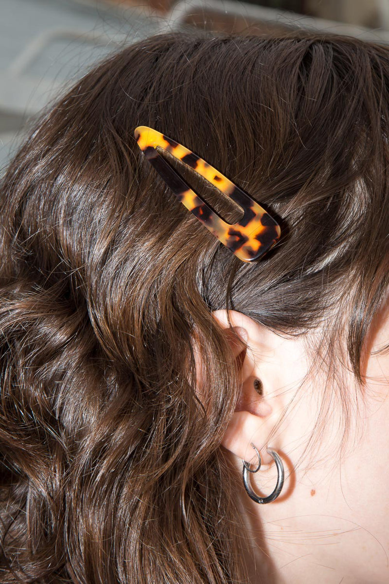 Cheetah and Tortoise Shell Hair Clips