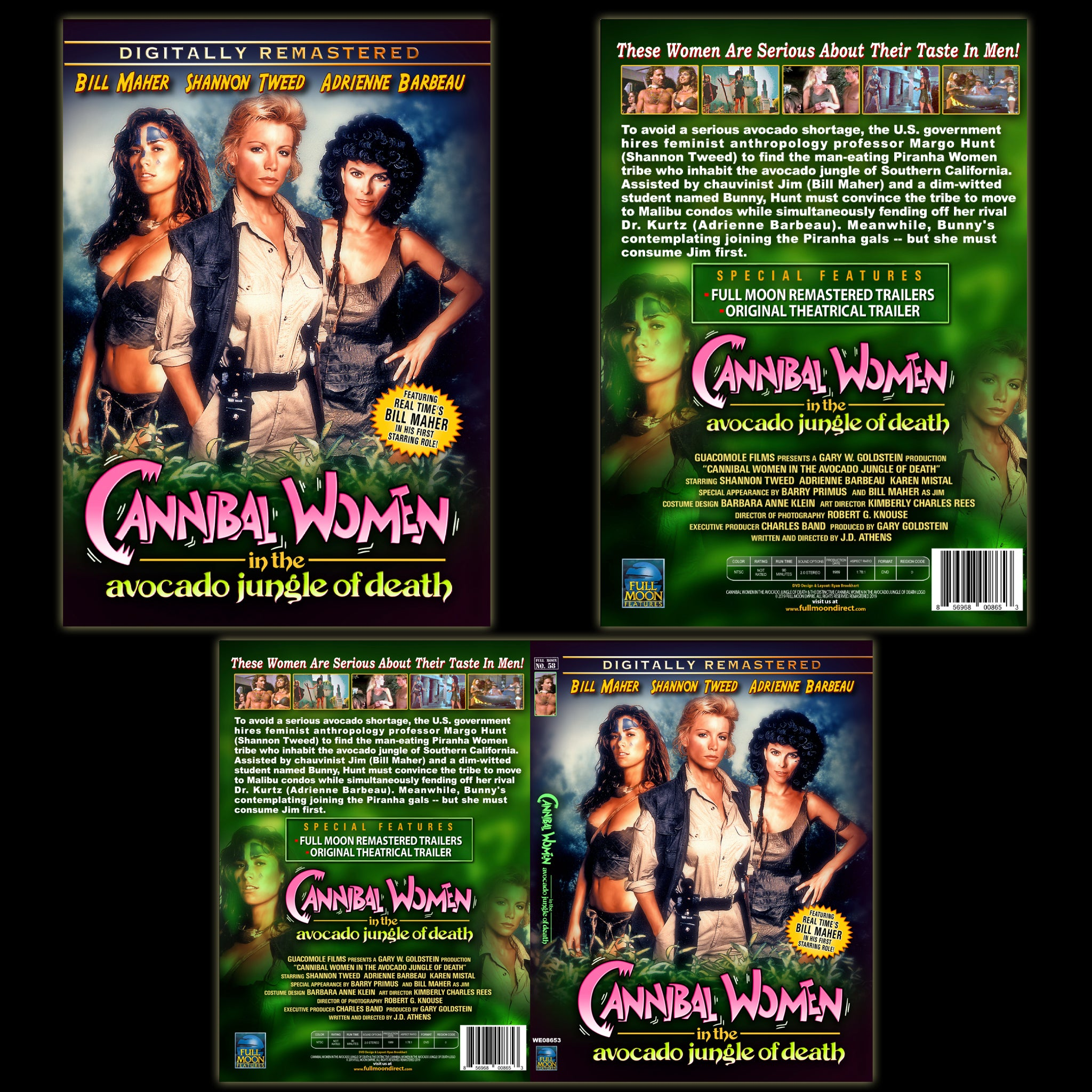 Cannibal Women in the Avocado Jungle of Death [Remastered] DVD