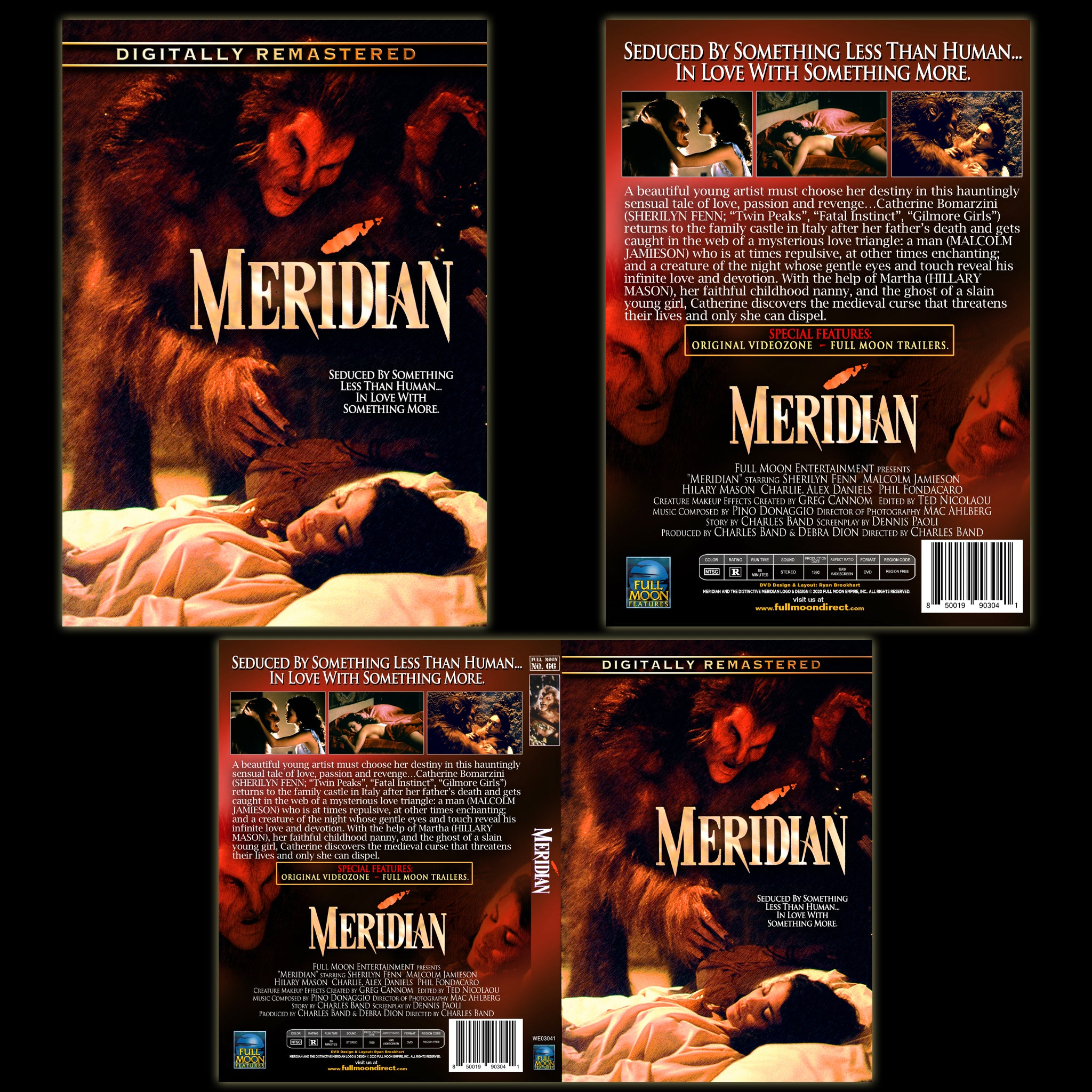 Meridian [Remastered] DVD