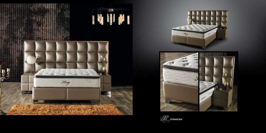 Boxspringbett, Baza King Set