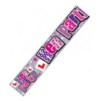 Hen Party Wall Banner