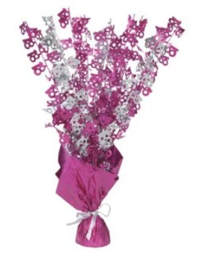 100 Table Centrepiece Pink and Silver
