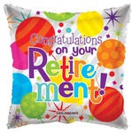 Congratulations On Your Retirement Balloon