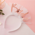 Bride to Be Hen Party Veil Headband