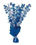 18 Table Centrepiece Blue and Silver