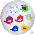 We'll Miss You Birds Balloon