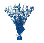 30 Table Centrepiece Blue and Silver
