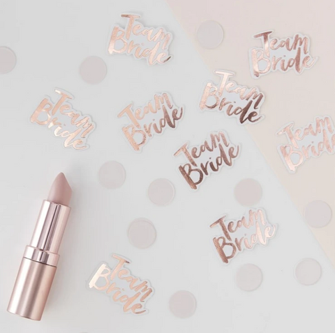 Team Bride Table Confetti