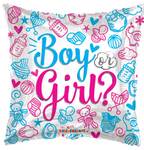 Boy Or Girl Gender Reveal Balloon