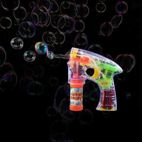 Flashing Bubble Gun