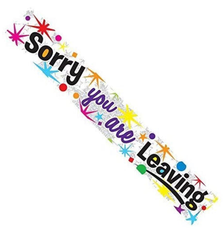 Sorry you are Leaving Banner