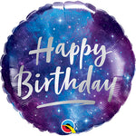 Galaxy Birthday Balloon