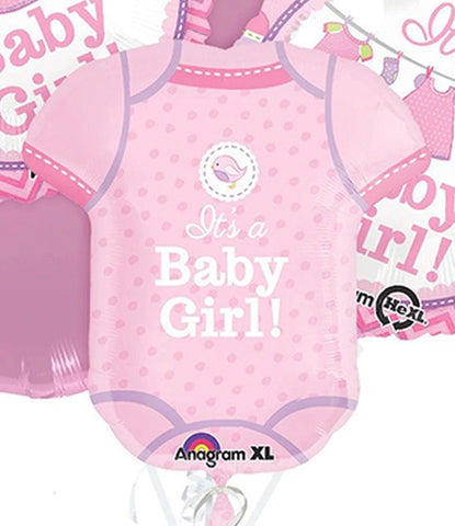 Baby Girl Supershape Balloon