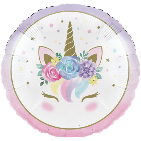 Unicorn Baby Pastel Balloon