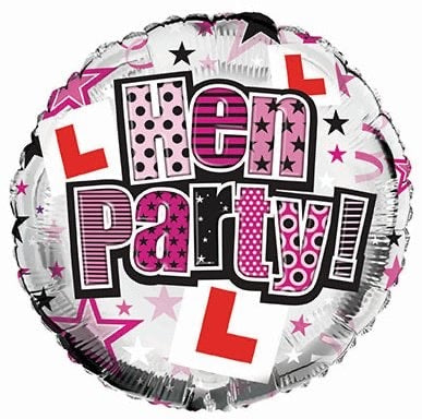 Hen Party Balloon