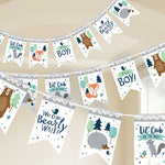 Bear-ly Wait Pennant Banner