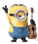 Despicable Me Minion Stuart Supershape Balloon