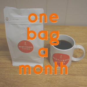 one bag a month