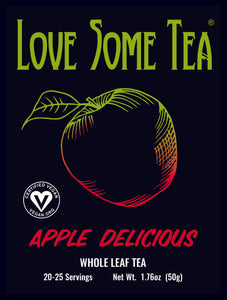 love some tea apple delcious
