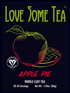 love some tea apple pie