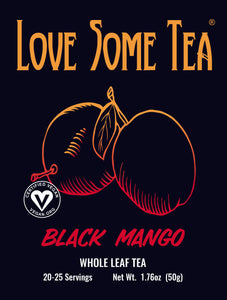 love some tea black mango