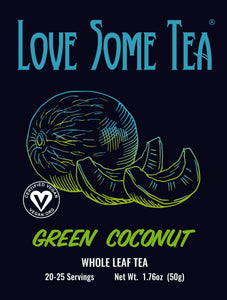 love some tea green coconut