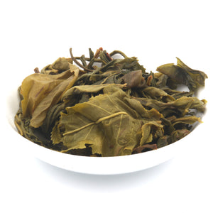 love some tea whole leaf coconut flavor green tea