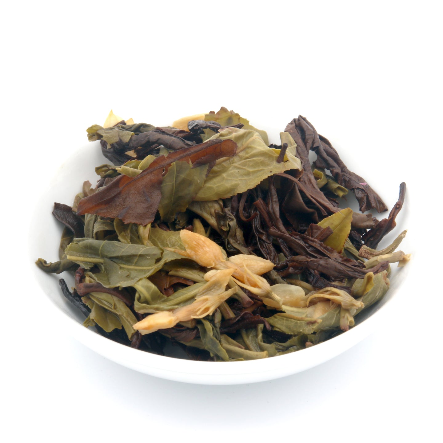 love some tea whole leaf tropical flavor black & green tea