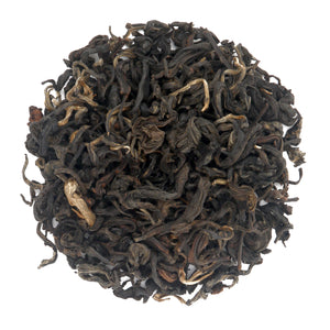 loose leaf black mint tea