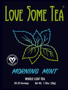 love some tea morning mint