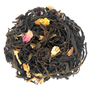 love some tea loose leaf black & green tropical tea