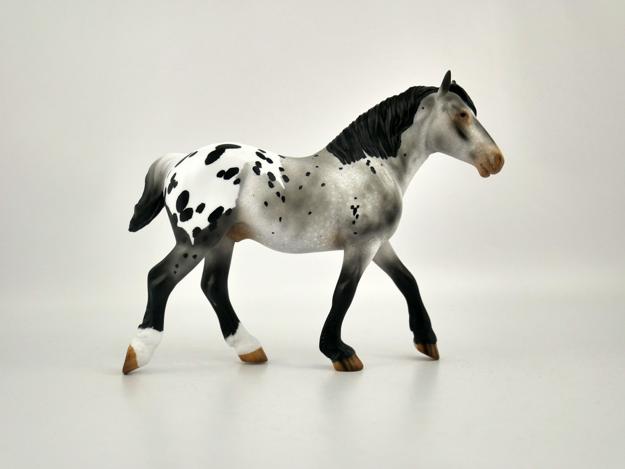 Smokey-OOAK Appaloosa Draft Pebbles by Audrey Dixon 11/18/20