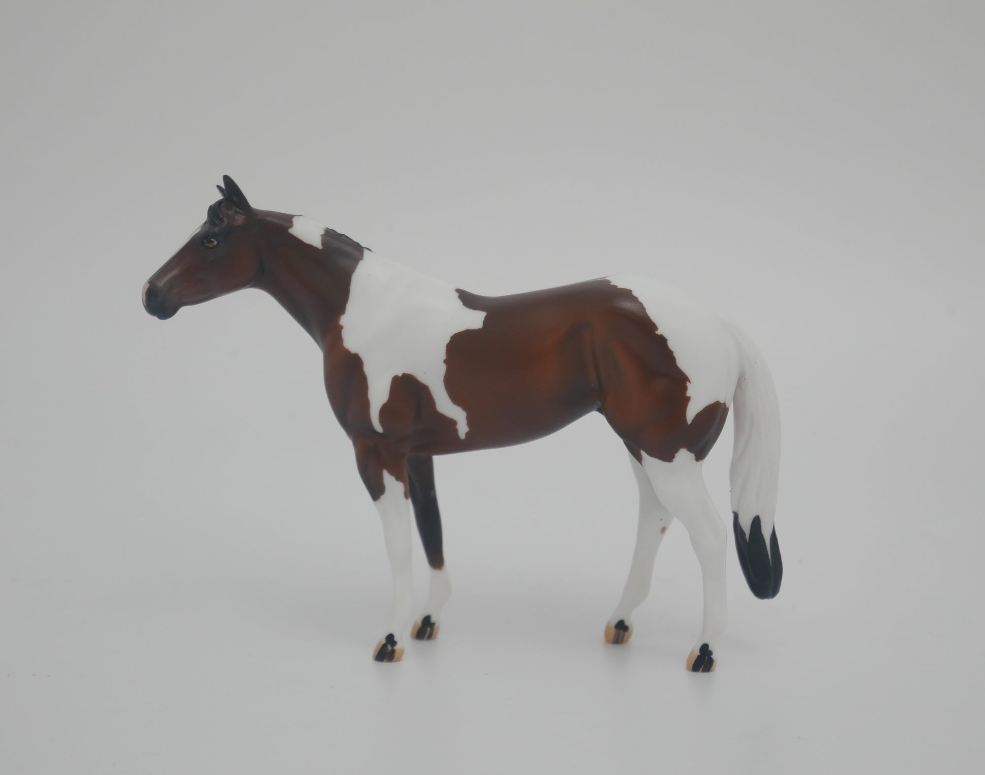 MINI ME BUCKEYE BAY PINTO STONE STOCK HORSE CHIP MODEL HORSE EA/MW 2020