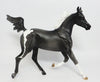 CINDERELLA~OOAK GREY PINTO YEARLING MDOEL HORSE 5/1
