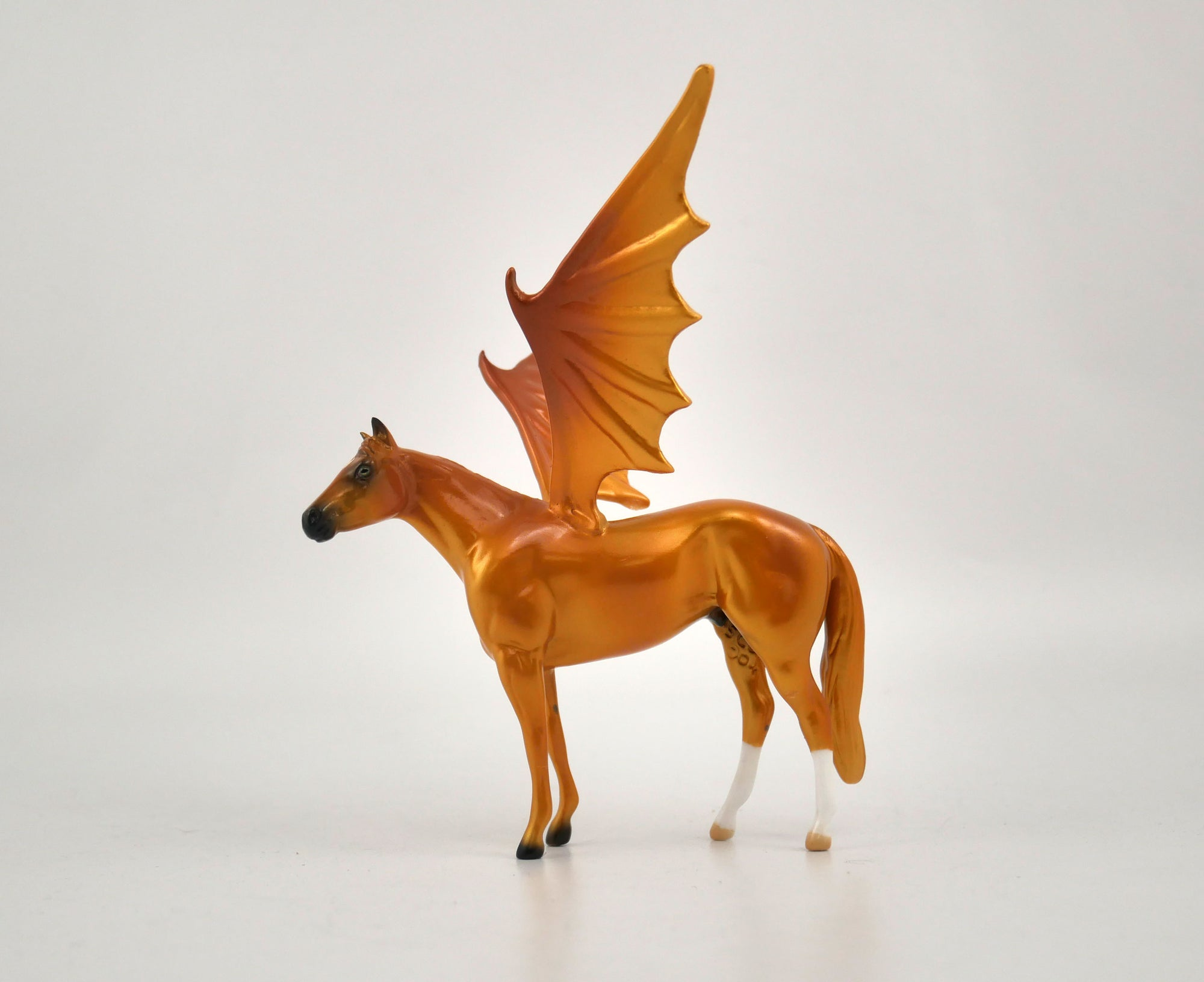 Damien-OOAK Bat Chip Stock Horse  By Audrey Dixon MM 2020