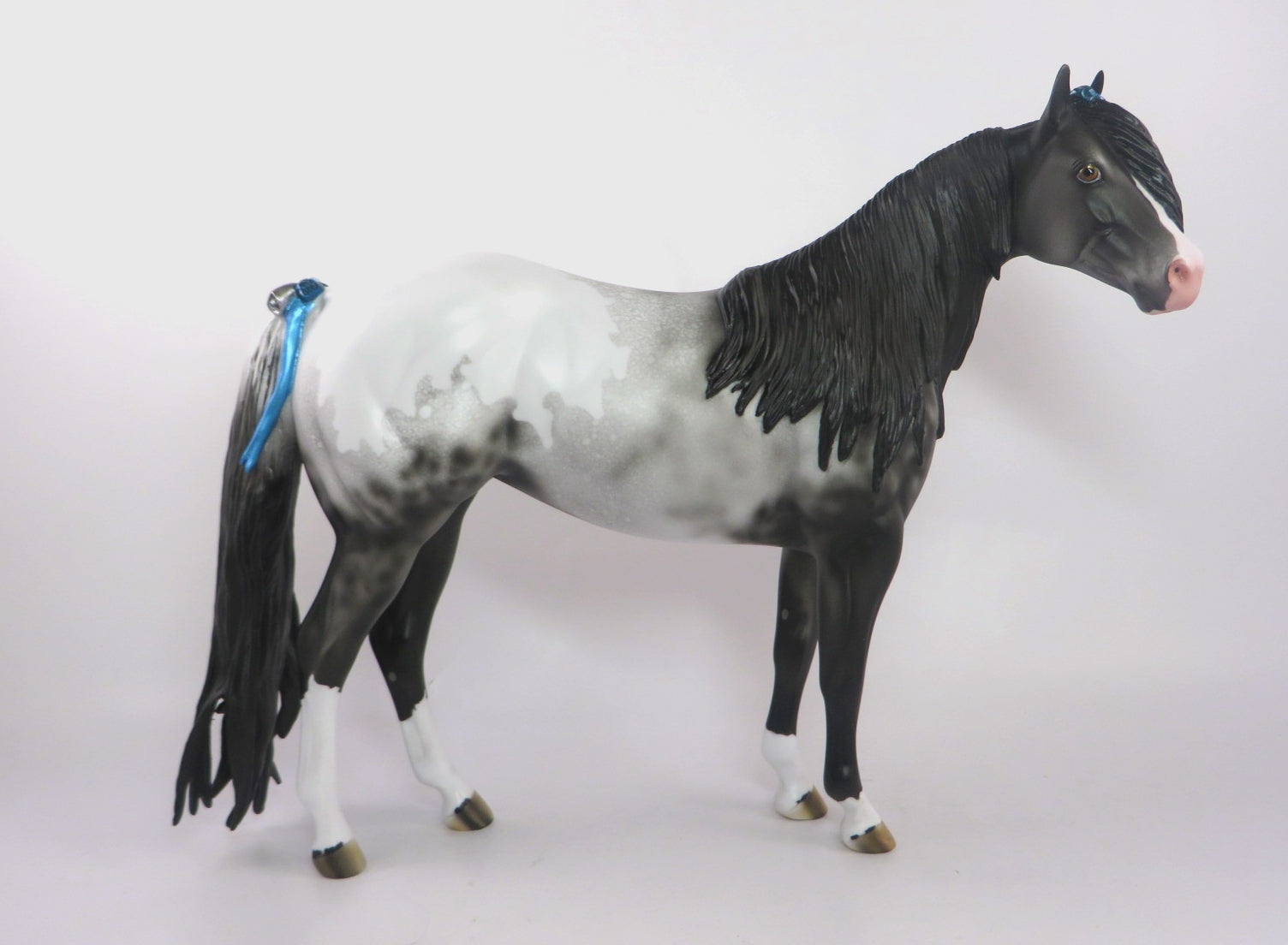 HEAVEN SENT-OOAK NO SPOT APPALOOSA ISH MODEL HORSE 1219/19