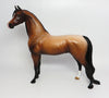 ARABIA-OOAK BAY ROAN ARABIAN MODEL HORSE 4/21