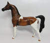 SASHA-OOAK BAY PINTO ARABIAN MODEL HORSE 4/28