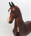 STRETCH-LE.3 LIVER CHESTNUT SADDLEBRED MODEL HORSE 05/10/17