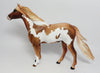 LOUIE~OOAK CHESTNUT PINTO SPANISH MUSTANG MODEL HORSE 5/10