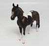 MISAKA-OOAK DAPPLE BAY ANDALUSIAN  CHIP MODEL HORSE BY SHERYL LEISURE 5/11/17