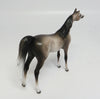 ETERNITY~OOAK DAPPLE GREY ARABIAN CHIPS MODEL HORSE 5/10