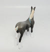 MORNING GLORY-OOAK DAPPLE GREY DRAFTER CHIP MODEL HORSE 05/12/17