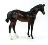 JUNIOR MINT - OOAK BAY WEANLING MODEL HORSE -  9/30