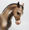 GENESIS-OOAK ROSE GREY PINTO ANDALUSIAN MODEL HORSE 5/24/17